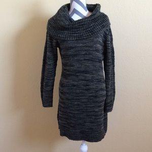 Michael Michael Kors Tortoise Cowl Sweater Dress